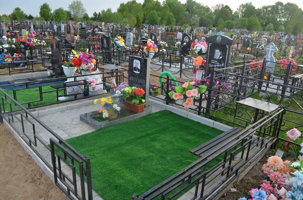Облагородить могилу на кладбище своими руками 24